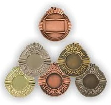 Medallas en metal
